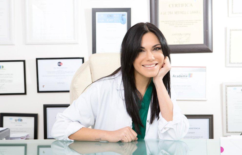 Doctora Mery Lamah · Prestigiosa especialista en Medicina Estética en Zaragoza